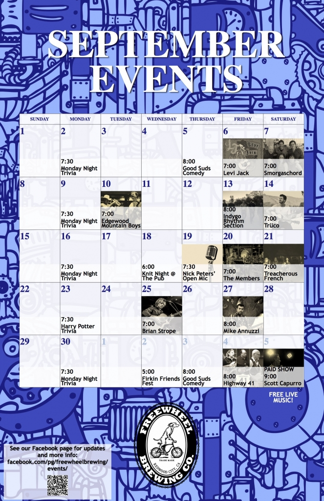 September 2019 Events Calendar WEBSITE